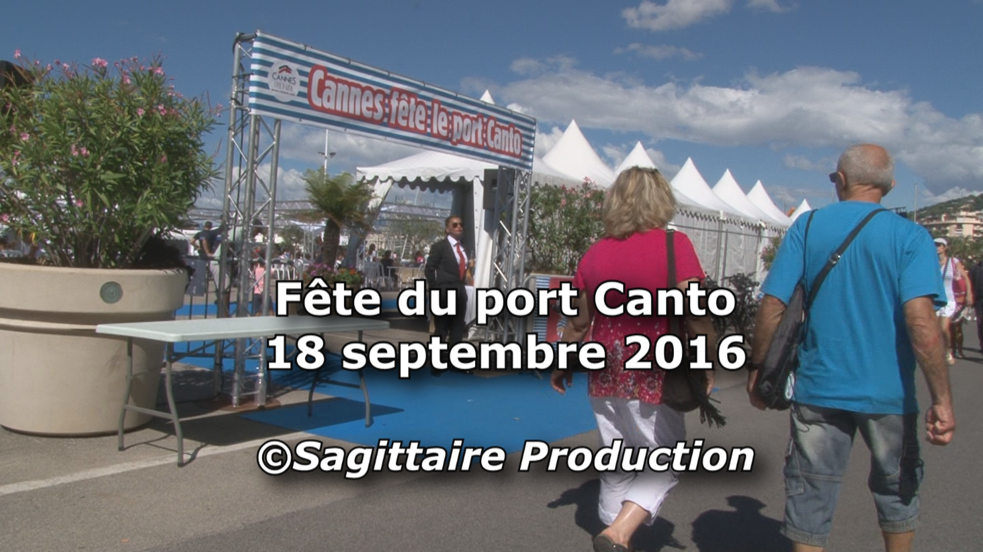 Video La fête au port Canto de Cannes